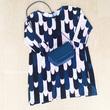 【平日5着のワンピースコーデ】バッグを変えながら、洋服のローテーションを楽しむ