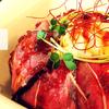 西彼杵郡時津町gem'sのローストビーフ丼はお肉好きなら一度は食べてみるべし!