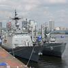韓国海軍「チュンムゴンイスンシン」「チョンジ」&護衛艦「おおなみ」