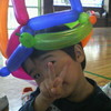 風船の帽子