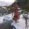 重い雪です