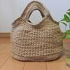 麻ひものグラニーバッグをご紹介します。