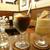 境目のシャリシャリがたまらない!コーヒーフロート@鹿児島市東開町