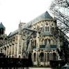 サン・テティエンヌ大聖堂の南塔そばの部分(ブールジュ、フランス)