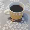 目覚めのコーヒー。