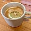 レモンコーヒを作って飲む