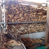 薪棚 ここが満杯になるのは Firewood rack When will it get filled