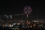 小樽天狗山から見下ろす花火! おたる潮まつり最終日の花火大会を楽しむ。