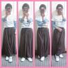 パンツの丈が長すぎる~😅small女子ならよくあること~。