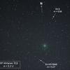 雪雲が南下する前に 46P ビルタネン彗星