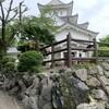 大垣城のそばに松尾芭蕉「奥の細道」むすびの地がありました。