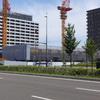 あすと長町、ワンパークレジデンシャルタワーズ建設状況(2016年7月)