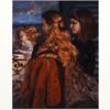 クールベ 「窓辺のイギリスの三人の少女」 やはり人間は蛇の食糧