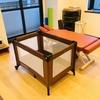 【置き場に困らない!】折りたたみ式のベビーベッドがコンパクトで便利な件