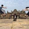 カンボジアタクシーチャーターで 日本人リピーター3名様 プリアヴィヘア遺跡巡り