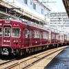 速報、今日の阪急神宝線の正雀への回送。