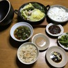 昨日の増田塾で自分に大きなショックを感じた、今日は食事で癒し。