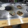 お昼ご飯は~三津浜のお好み焼き!