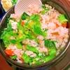 菜の花と蕎麦の実の混ぜご飯