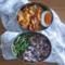 白菜と豚肉のスパイスカレー弁当