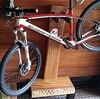 自転車のスタンドを自作してみた|室内に自転車を置くために