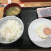 シンプル朝ご飯