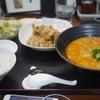 【杏亭】コクのある担々麺が美味い!ボリュームある唐揚げもセットでお腹いっぱい