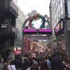 竹下通りは大混雑でした。