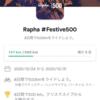 12/26(土)RAPHA festiva3日目。