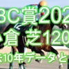 【CBC賞 2021】過去10年データと予想