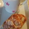 ミニクロワッサンとコーヒー