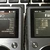 ファームウェアで音質が変わったのか?(Fiio X5 2nd)