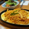 【名古屋めし】イタリアンスパゲッティと海苔トースト
