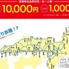 特急・新幹線自由席にも乗り放題な「JR西日本30周年 乗り放題きっぷ」を買いました