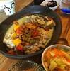 ●さいたま新都心「Cafe Maru (マールーウ)」の二種盛りカレー