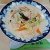 百貨店の催し物で蘇州林のくり-むちゃんぽん食べてきました。