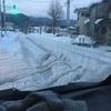 田舎の生活45 大雪の爪跡!道が最低最悪なことに