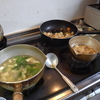 幸運な病のレシピ( 712 )朝:味噌汁、金目の煮付け、煮しめ。ししゃも、、カブサラダ
