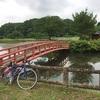 梅雨の合間 物見山のそばにある伝説の沼を見に行くサイクリング