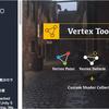 Vertex Tools Pro メッシュに直接「塗り」や「押し出し」が出来るエディタ