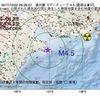 2017年10月02日 09時39分 遠州灘でM4.5の地震