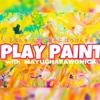 絵を描くということについて②ー絵の描き方、春の嵐、PLAY PAINT参加者募集♡ー