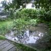 また雨か、自然の力を思い知らされる