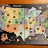 アメリカ合衆国50州の25セントを集めた、Quarters Collection's Map