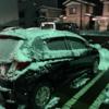 雪降る中での透析(1/12の透析)