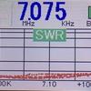 EFクワッドのSWR計測