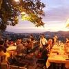カオランで夕日を眺めてトゥンカカフェで食事もいいコース!