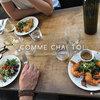 ノートルダムを眺めながら♡おすすめレストラン「COMME CHAI TOI」【パリ5区】
