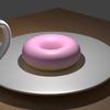 Blenderでドーナツ作り(5) テーブルのテクスチャ