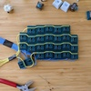 """3D-printed """"PCB"""" for solderless hotswap prototyping"""